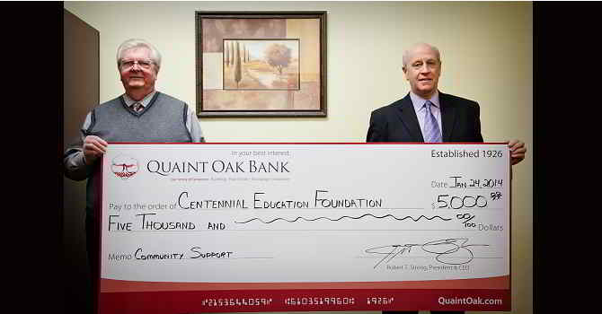 Image Quaint Oak Bank Donation
