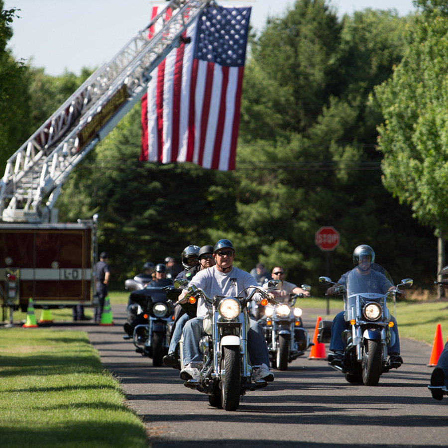 Image of Quaint Oak Insurance Ride for the Heroes