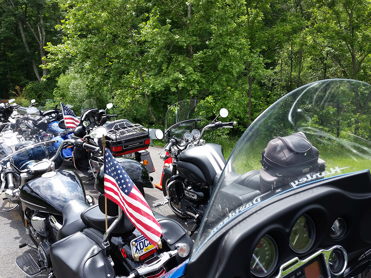 Image of Quaint Oak Bank Ride for the Heroes