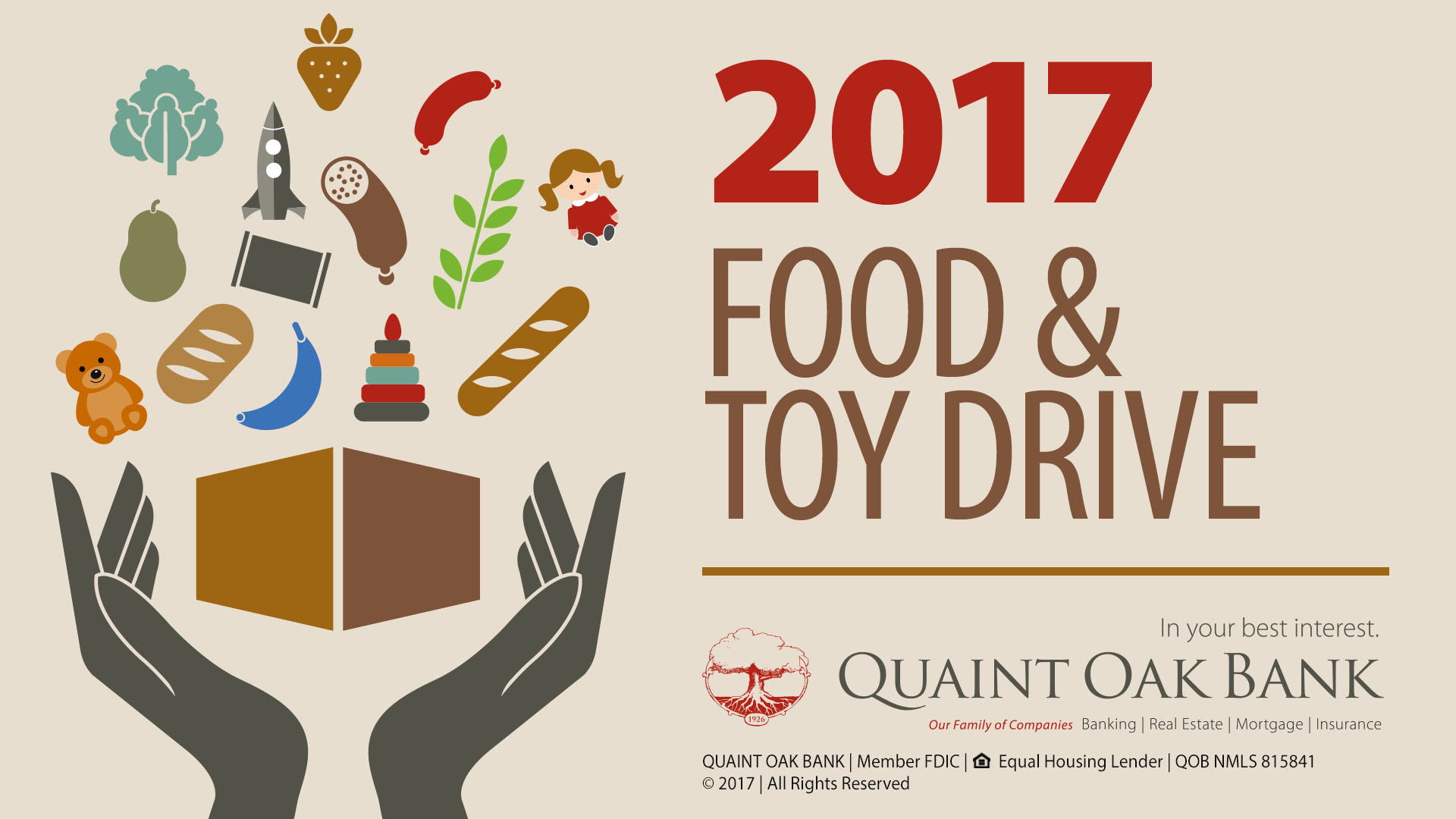 Image for QOB 2017 Food & Toy Drive