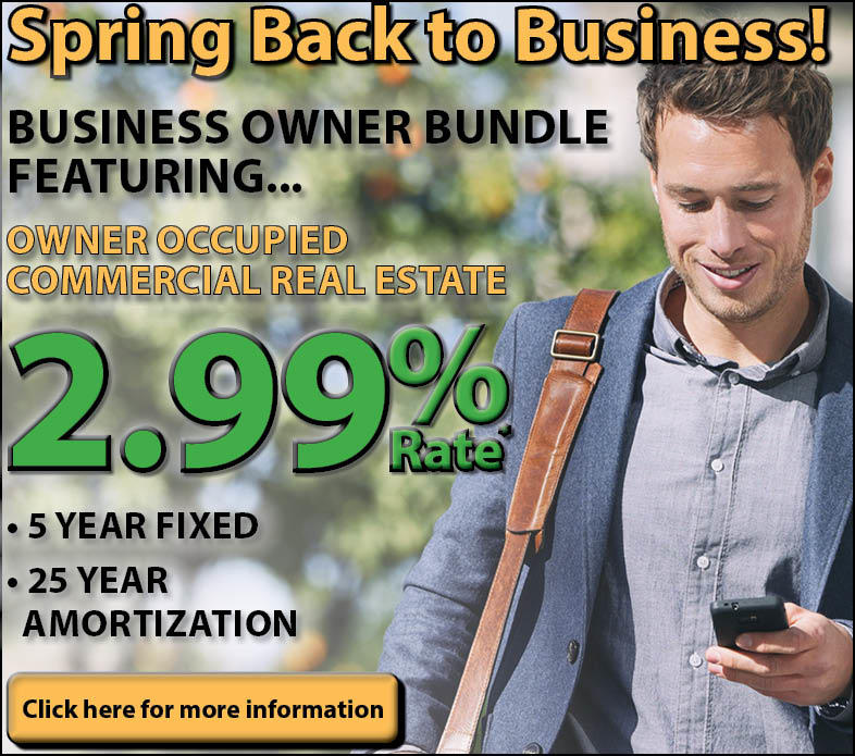 Spring Back to Business Ad, Man on Phone