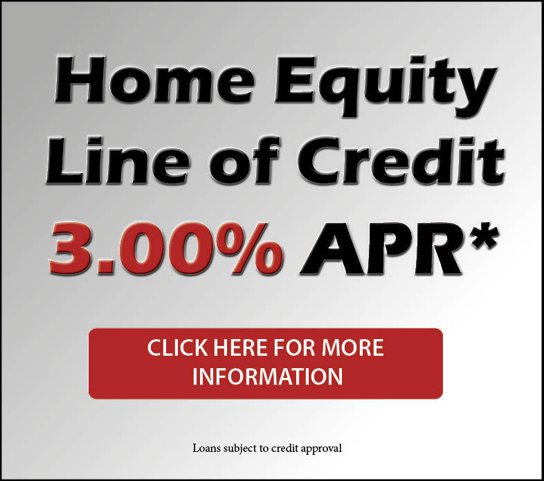 Home Equity Line of Credit 3.00%APR*