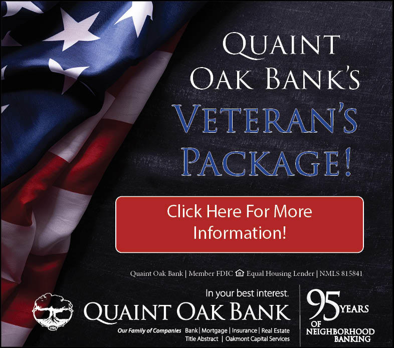 Click Here to Learn More About the Quaint Oak Military Package